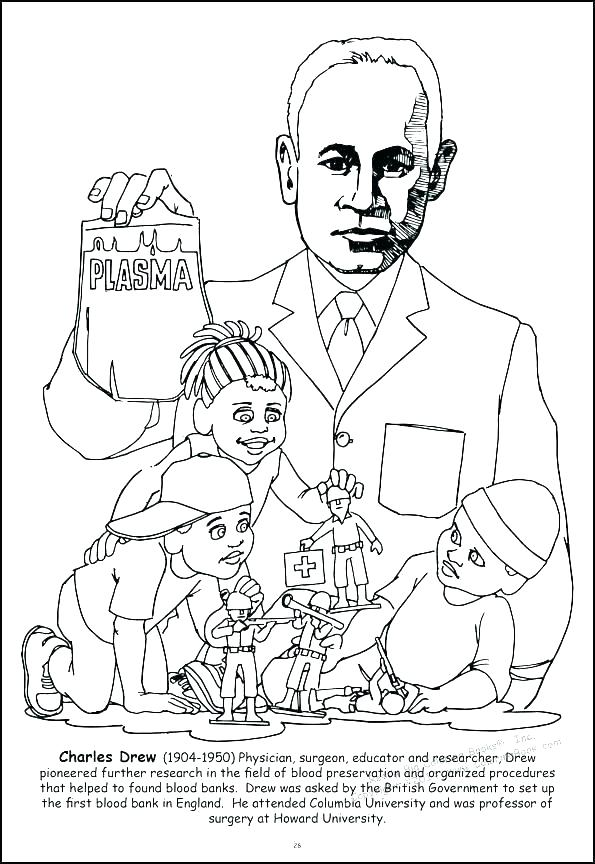 595x864 Coloring Page For Harriet Tubman Also Unique Coloring Pages