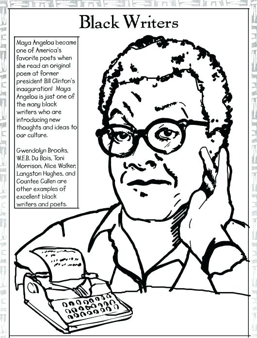 530x698 Coloring Pages For Black History Month Black Inventors Coloring
