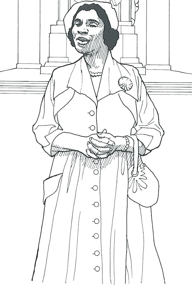 640x960 History Coloring Pages Coloring Pages For Black History Month