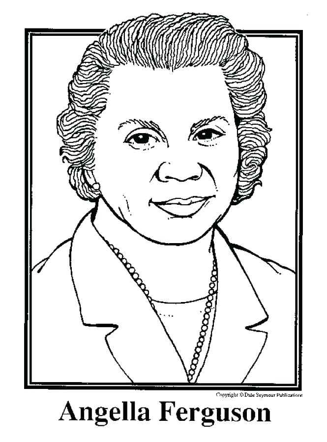 665x900 Black History Month Coloring Pages For Preschoolers
