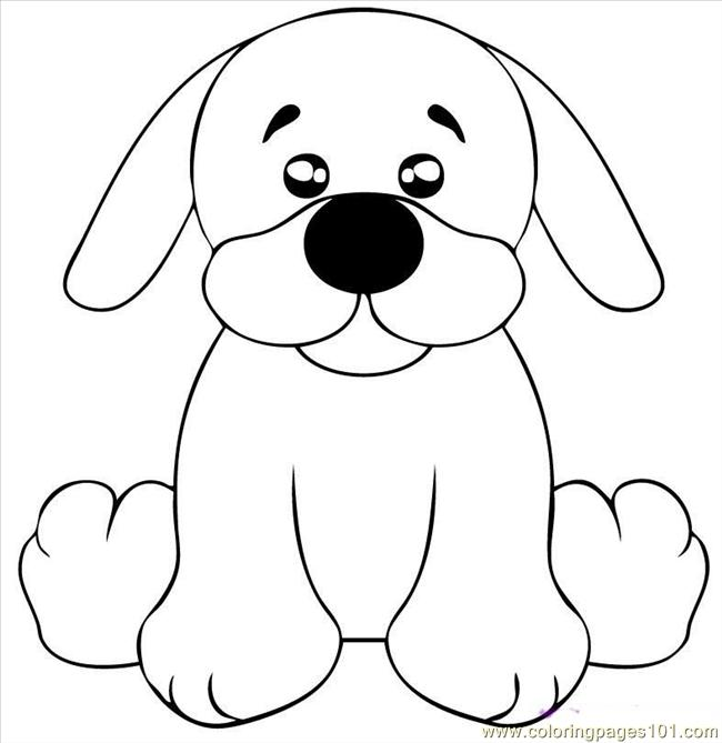 650x669 Draw A Black Lab Puppy Step 5 Coloring Page