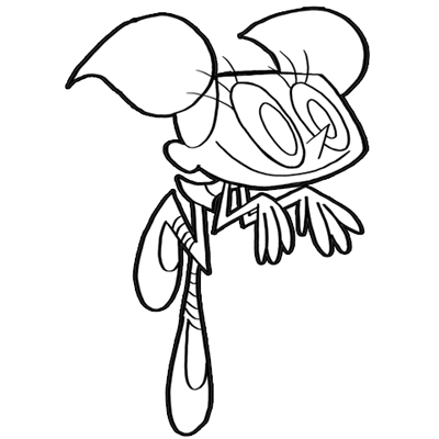 400x400 How To Draw Dee Dee From Dexter's Lab With Easy Step By Step