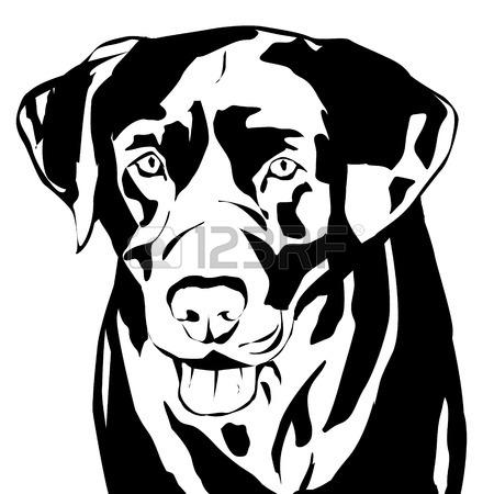 450x450 6,488 Labrador Retriever Cliparts, Stock Vector And Royalty Free