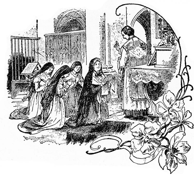 800x735 Life Of Saint Julie Line Drawings Sisters Of Notre Dame De Namur