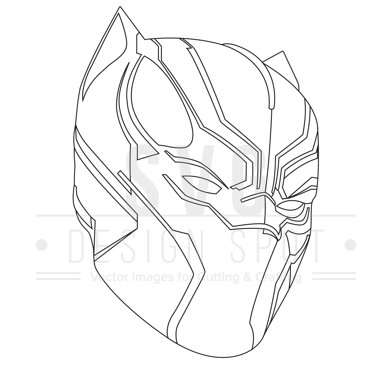 Black Panther Marvel Drawing At Getdrawings Free Download