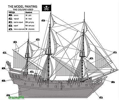 Black Pearl Drawing
