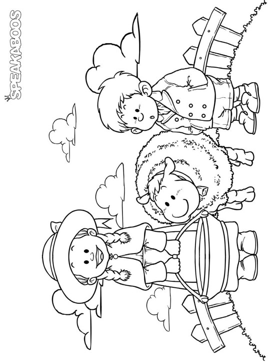558x722 Coloring Pages Baa Baa Black Sheep Speakaboos Worksheets