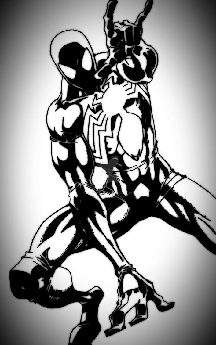 707x1131 Black Spiderman By C Hampton