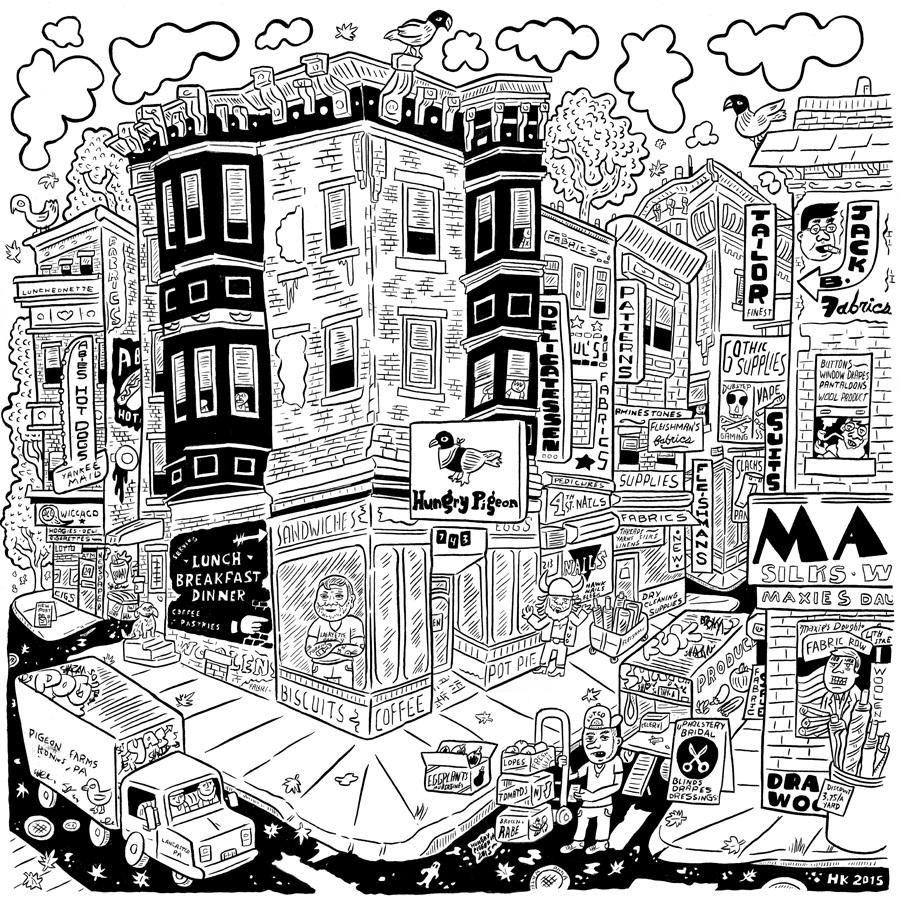 900x903 Neighborhood Drawings