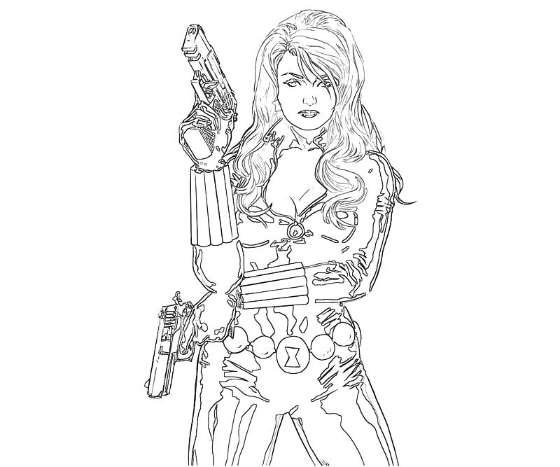 Black Widow Drawing at GetDrawings   Free download