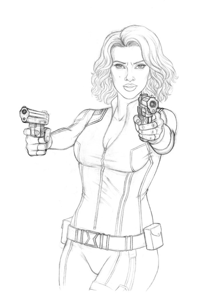 Black Widow Drawing At Getdrawings Com Free For Personal
