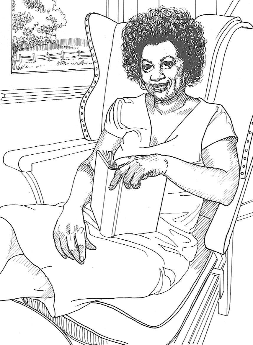 857x1169 Famous Black Women Of Color History Coloring Pages