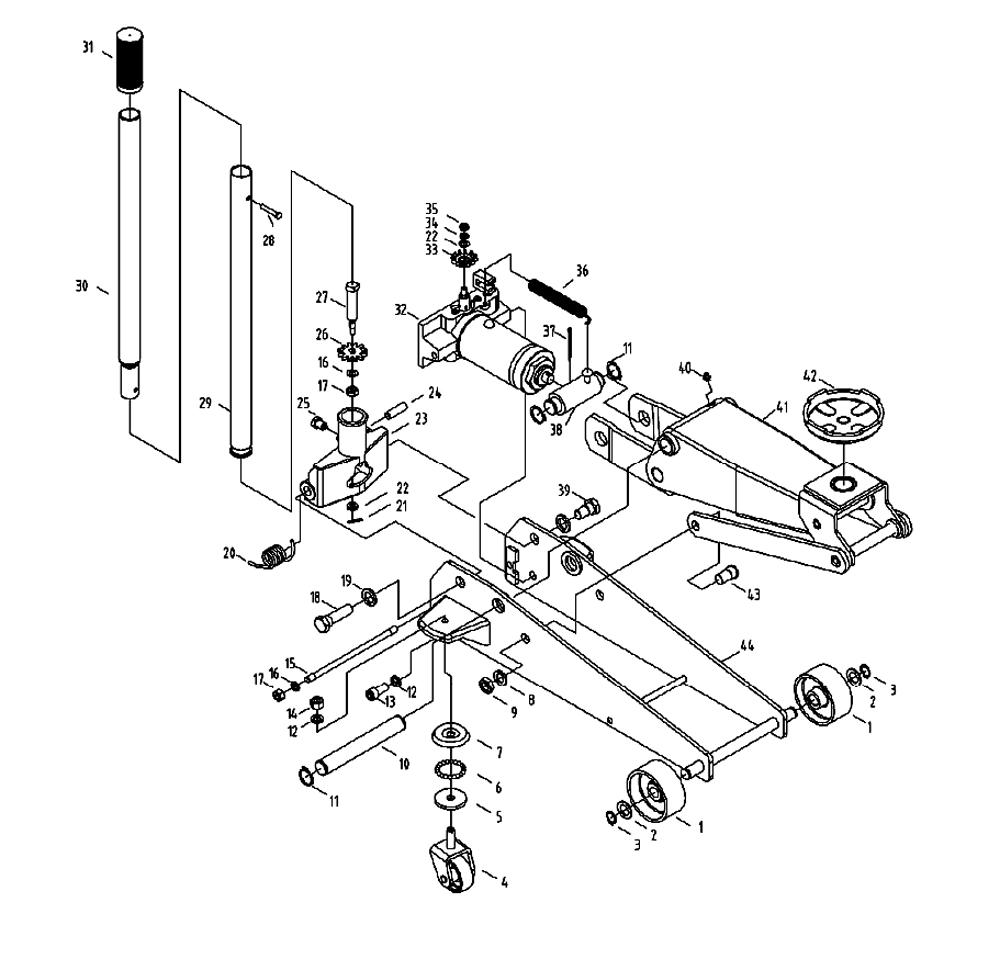 1000x959 Blackhawk Floor Jack Parts Diagram Ton Enchanting Pictures Skewred