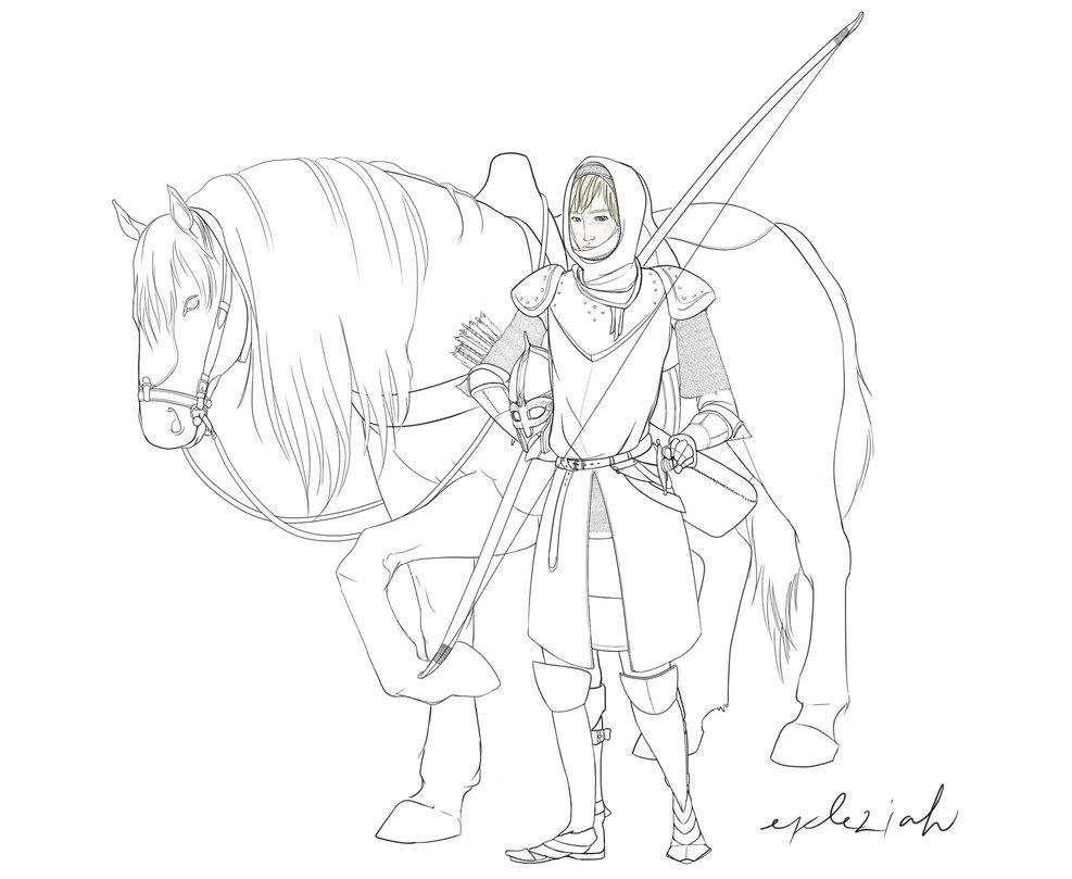Blade Drawing