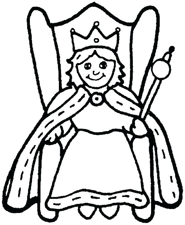 600x731 Stunning Blank Coloring Book Pages Print To Full Size Of Queen