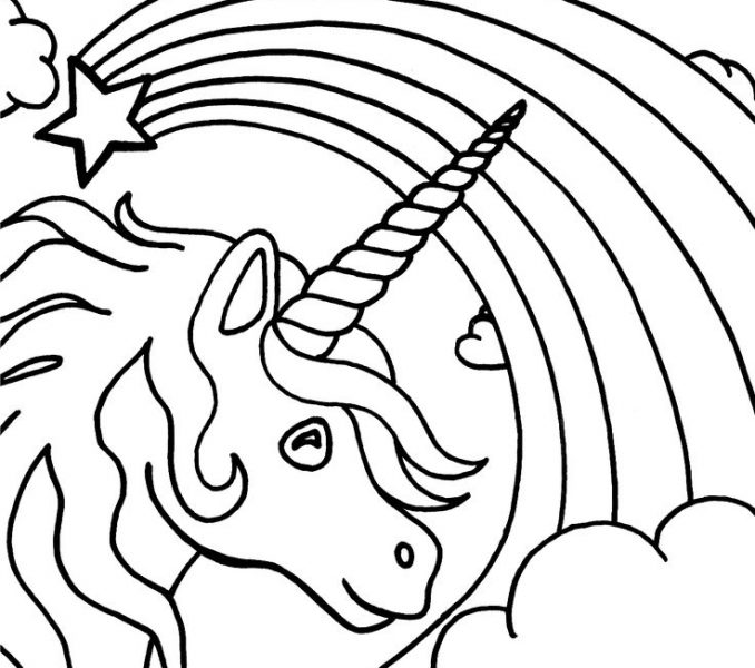 678x600 Blank Coloring Pages To Print Blank Coloring Book Pages Kids