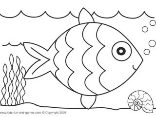 320x240 Drawing Sheet For Kids Coloring Pages For Children Funycoloring
