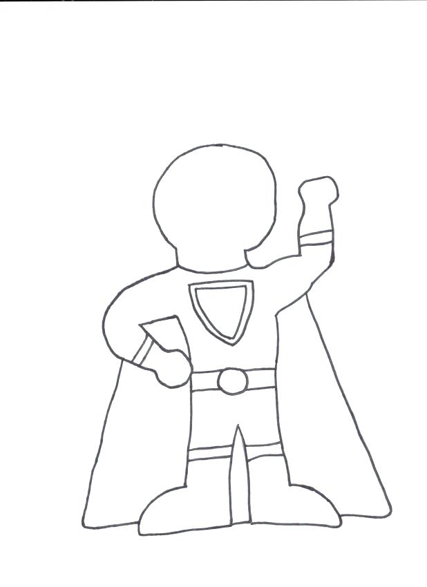 618x850 Person Outline Coloring Page Pin Drawn Templates Drawing For Kids