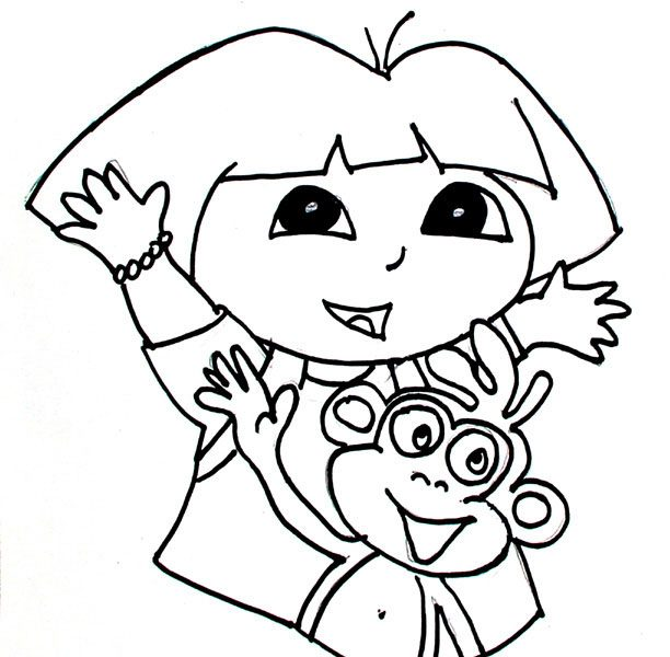 612x600 Kids Drawing Page Best Coloring Pages For Toddlers Gallery Color