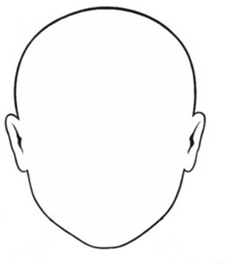 Blank Face Drawing at GetDrawings.com | Free for personal use Blank ...