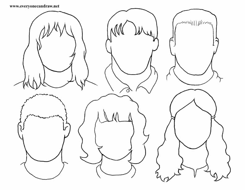 blank face drawing at getdrawings com