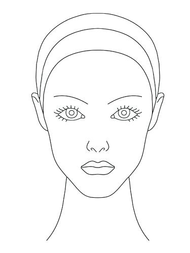 Blank Face Drawing at GetDrawings com | Free for personal