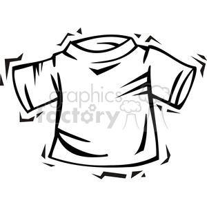 300x300 Royalty Free Blank Tee Shirt Clip Art 385754 Vector Clip Art Image
