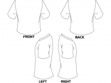 220x165 Blank T Shirt Template Front And Back Designs Templates
