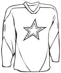 252x300 Coloring Pages Of Shirts And Jersey For Adults Printable Adult Nba