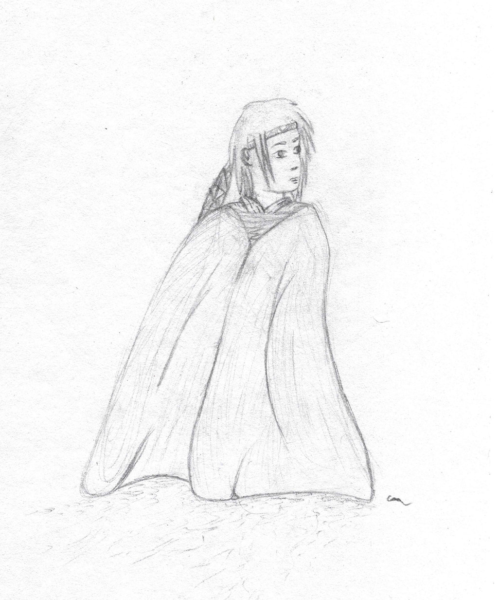 1024x1232 Person In Blanket By Stettafire