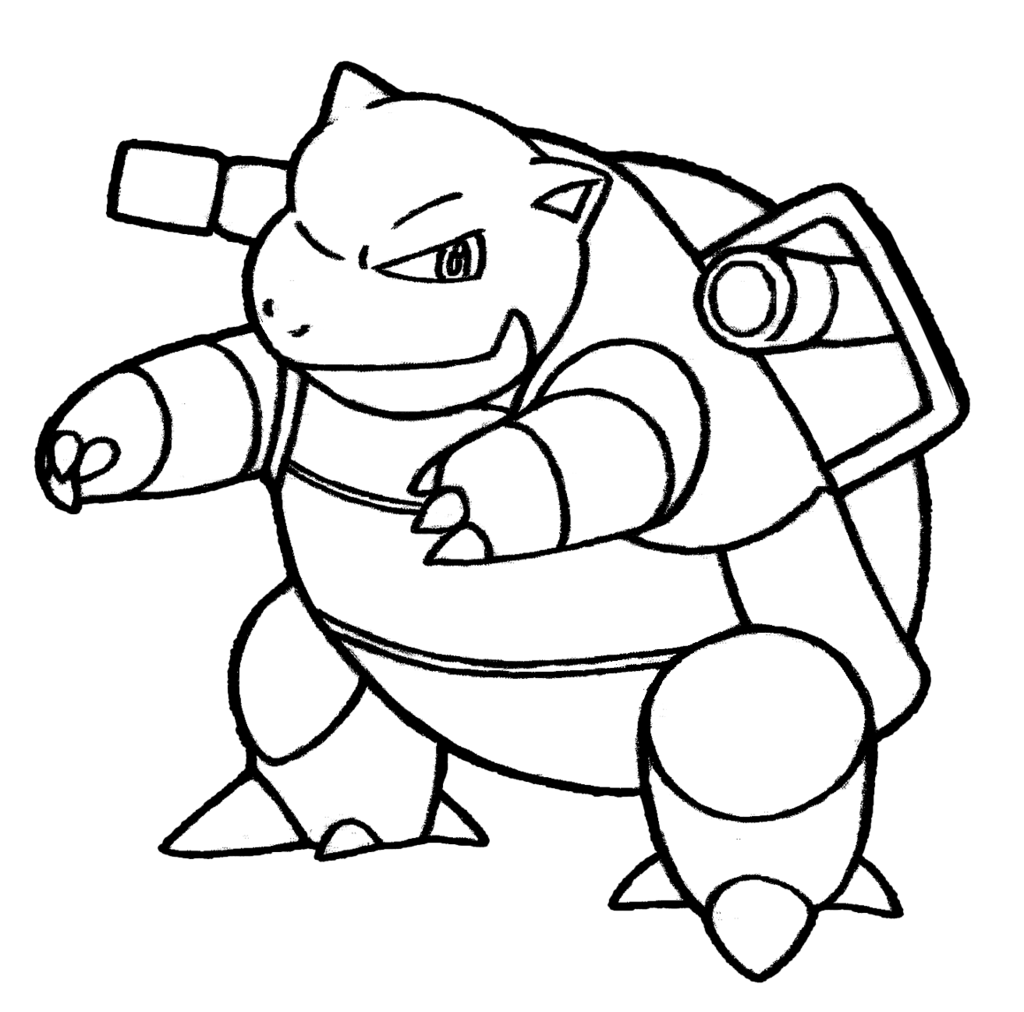 Blastoise Drawing