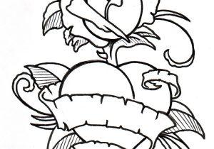 300x210 Heart And Flower Tattoos Bleeding Heart Flower Sketch Tattoo