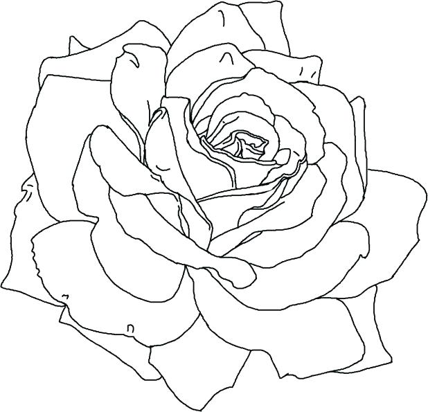 618x595 Hearts And Flowers Coloring Pages Hearts And Flowers Coloring