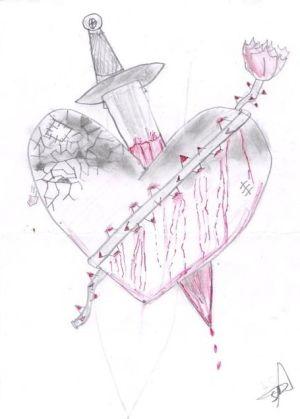 300x419 Hearts Drawings