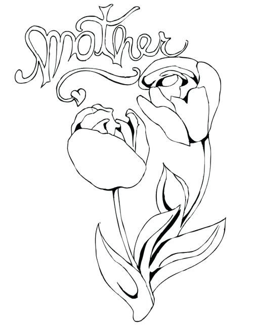500x647 Luxury Hearts And Flowers Coloring Pages New Ng With Of Roses