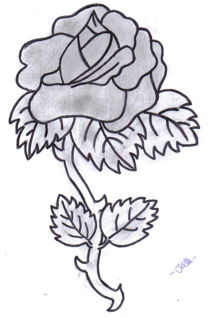 725x1102 Dongetrabi Black Rose Drawing Bleeding Images