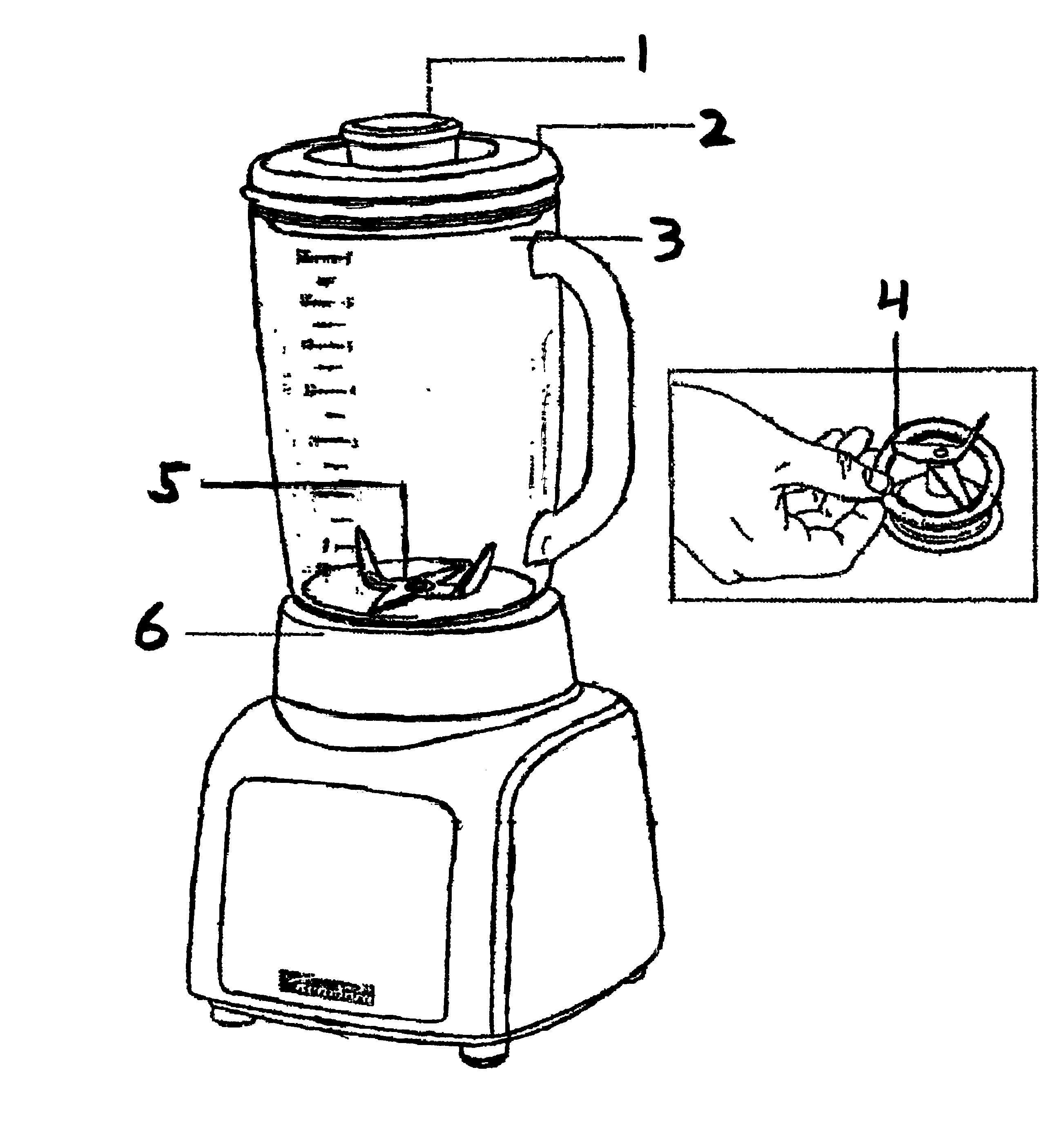 2605x2767 Kenmore Blender Parts Model 10004201 Sears Partsdirect
