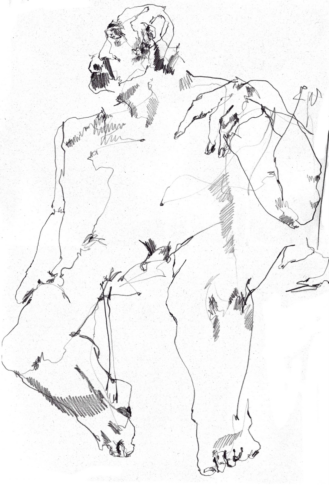 Blind Drawing