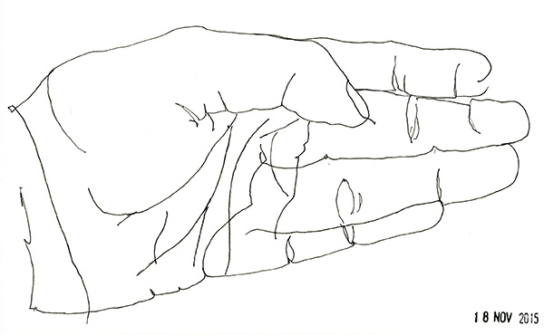 600x370 November's Blind Contour Drawings