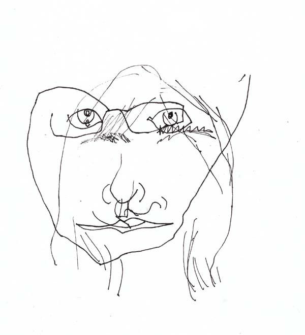 600x660 Portrait Blindcontour1 Advancin In Art Contours