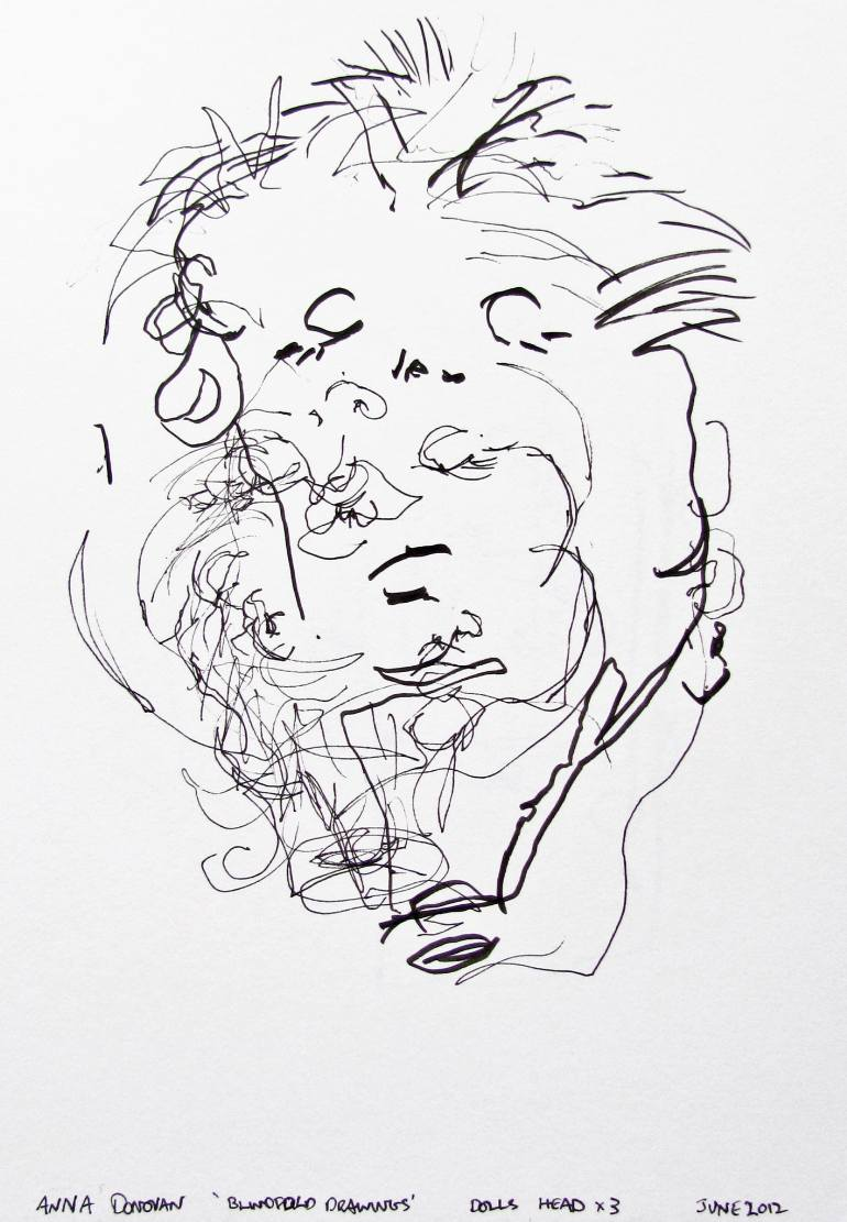 770x1111 Saatchi Art Blindfold Drawings