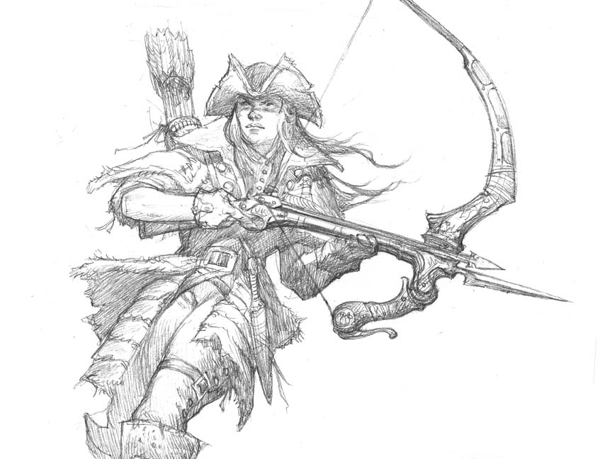 864x648 Prescott Draw Blog Daybreak Archer Sketch