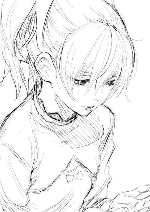 500x706 I Wish I Could Draw Anime Anime, Drawings And Manga