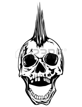 345x450 Evil Metal Skull Stock Photos. Royalty Free Evil Metal Skull