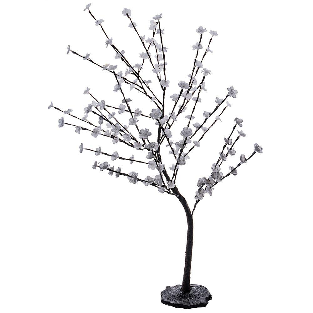 1000x1000 Hampton Bay 4 Feet White Decorative Blossom Tree 120 Volt