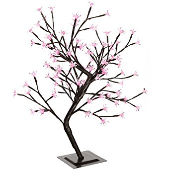 342x342 Werchristmas Pre Lit Illuminated Cherry Blossom Tree With 96 Led