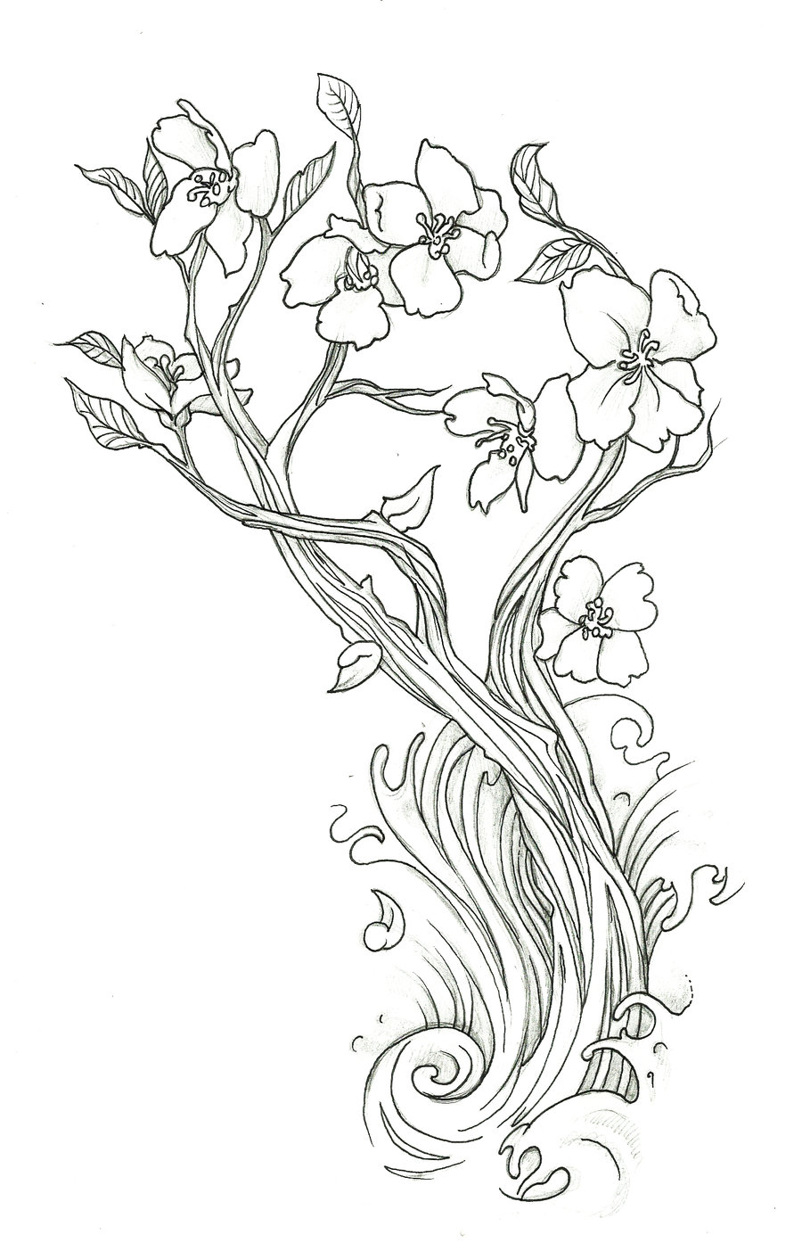 900x1394 Sophisticated Illustrations And Drawings To Color Of Scenery