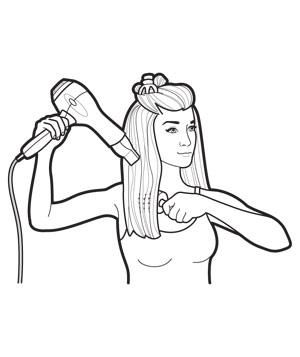 300x357 51 Best Hair Dryer And Shavers Illustrations Images