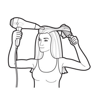 299x357 The Easy Secrets To A Perfect Home Blow Dry