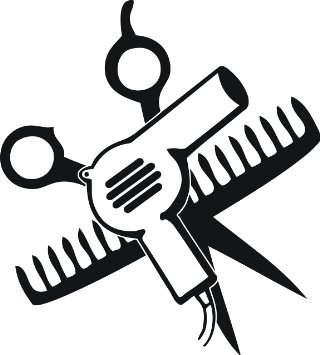 320x355 Blow Dryer And Scissors Png Transparent Blow Dryer And Scissors